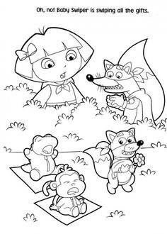 diego christmas coloring pages - photo#42