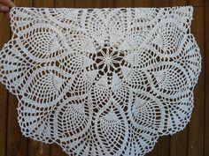 Crochet doily.