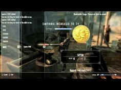 Skyrim how to raise smithing, your level, and also make money all at the...