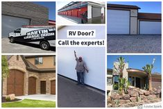 Need an oversize RV garage door?  No problem.  Martin Garage Doors of Nevada is the leading provider in Southern Nevada for all sizes and types of doors.  Call the experts for all of your garage door needs! www.martindoorlv.com  #garagedoor #RVgaragedoor #martindoorlv Martin Garage Doors, Garage Doors For Sale, Rv Garage, Garage Door Colors, Commercial Garage Doors, Automatic Gate, Types Of Doors, Nevada, Southern