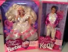 Secret Hearts Barbie Ken Doll Set NRFB Valentine Love Couple Romance Kiss Wedded Couple Romance, Wedding Kiss, Great Valentines Day Gifts, Big And Small, Doll Set, Ken Doll, Barbie And Ken, Love Couple, Cool Items
