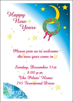 new years invites for your new years party celebration find most trendy new years party