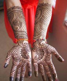 Latest & Beautiful Bridal Mehndi Designs for Young Girls