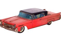 Vintage Toy Lincoln Continental  best Cruise machine