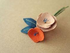 Flora コサージュ | iichi(いいち)| ハンドメイド・クラフト・手仕事品の販売・購入