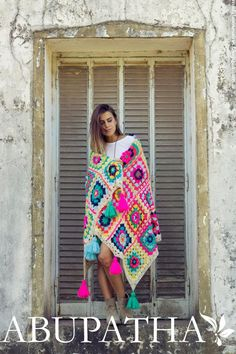 Ponchos invierno 2016 Abupatha moda invierno 2016.