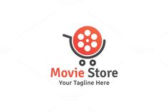 Movie Store Logo by Martin-Jamez on Creative Market