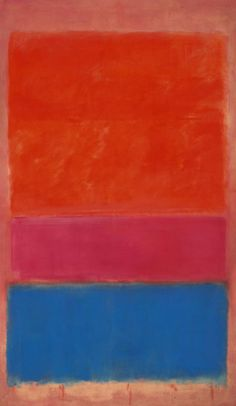 """#15 Mark Rothko """"No. 1"""" 1954 (sold 2012). To learn more find us on Facebook at galleryIntell."""
