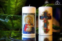 Virgin Mary - Candles by Ruaa Rosa
