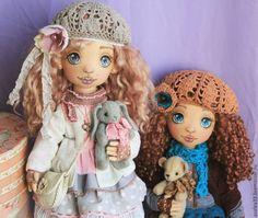 Купить Интерьерная текстильная кукла Мила - кукла, кукла ручной работы, кукла интерьерная