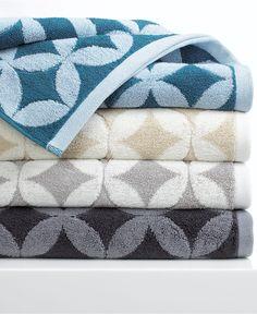 Aqua towel - $7.99-$17.99 on sale at Macy's