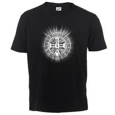 Christ Core (white cross) #Ciało #Chrystusa #Jezus #Chrystus #koszulka #krzyż #cross #Christ #Core