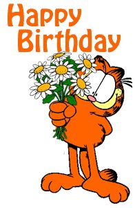 92 Best Garfield S Happy Birthday Images On
