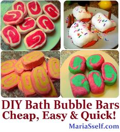 DIY Bubble Bars Recipe