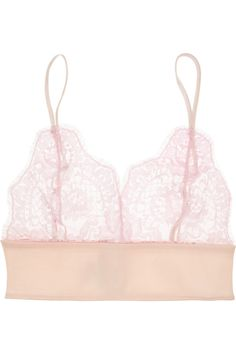 Rosamosario|Amore Senza Confini Chantilly lace soft-cup bra|NET-A-PORTER.COM