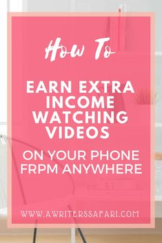 Earn extra income from home using your smartphone. Legitimate list of apps that pay to watch videos. Use your spare time to get paid to watch tv and ads