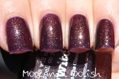 piCture pOlish 'Bewitch' swatched by More Nail Polish!  Shop on-line now: www.picturepolish.com.au