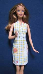 del Blog Manualidades de Claudia - patrones de ropa para Barbie