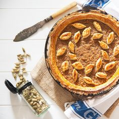 Cardamom Scented Treacle Tart | The Hedgecombers