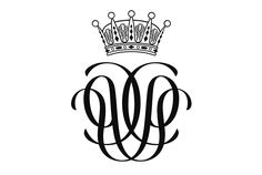 The joint monogram of Prince Carl Philip and Miss Sofia Hellqvist consists of a mirror monogram with the initials of their names.  Prince Carl Philip, Duke chandelier hangs over the monogram, and it has been designed by heraldic artist Vladimir A. Sagerlund and Prince Carl Philip.