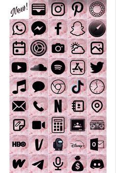 Wallpaper Doodle, Purple Wallpaper Iphone, Iphone Wallpaper Tumblr Aesthetic, Wallpaper App, Pink Iphone, Iphone App Design, Iphone App Layout, Iphone Logo, Iphone Icon