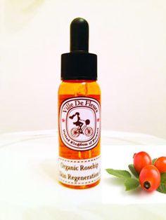 Organic Rosehip Skin Regeneration Oil  for fine by VilleDeFleurs, £14.00