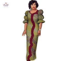 Fashion African Women Dashiki Dresses for Women – Owame African Lace Styles, African Lace Dresses, Latest African Fashion Dresses, African Dresses For Women, African Print Fashion, Africa Fashion, African Wear, African Women, African Outfits