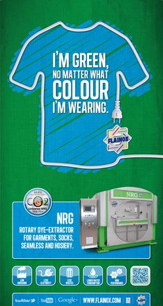 Rotary dye-extractor for garments mod. NRG - ECO-CONCEPT