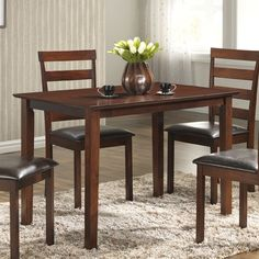Youll Love The Shrutika Wood Dining Table At Wayfair