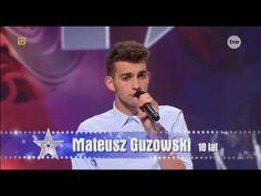 Mateusz Guzowski - Mam talent 2014 - YouTube