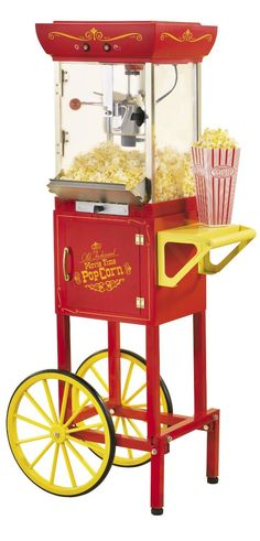 Do we own the popcorn machine or is that a vendor? I know we have had several throughout the years but not sure if they broke.