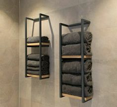 Bathroom Inspiration, Home Decor Inspiration, Towel Rack Bathroom, Towel Shelf, Bathroom Design Luxury, Towel Holder, Diy Furniture, Diy Home Decor, Bedroom Decor