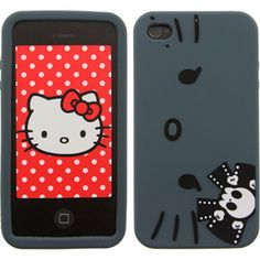 Hello Kitty Angry iPhone 4 And 4S Case (black)