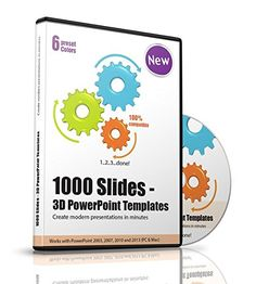 1000 Slides - 3D PowerPoint Templates, Slides, Charts and Themes - Modern presentations for Business, Companies, Communication, Marketing, Manager, Salesman, Sales, Toastmasters, Entrepreneurs, Teams, Speaker etc.