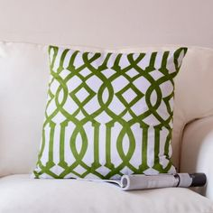 Green-Country-Flowers-Velvet-Pillow-Case-Car-Cushion-Cover-18-x18-DOUBLE-SIDES