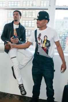 Vic x Chance - # Mick Jenkins, Ayyy Lmao, Vic Mensa, Bae, African American Artist, Man Crush Everyday, Chance The Rapper, Big Sean, Black Boys