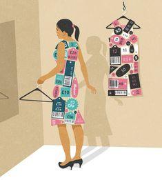 Las ilustraciones a continuación son reflejo y crítica de la sociedad actual; de sus vicios, del consumismo excesivo, el uso abusivo de las redes sociales..