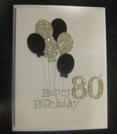Glitter balloons special birthday