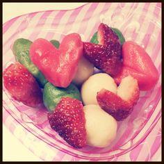 バレンタインの時にプレゼントしました☆ - 10件のもぐもぐ - 豆腐を使った白玉 by nyaneko17