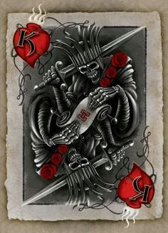 card tattoo and more king of hearts heart cards card tattoo king heart . King Of Hearts Tattoo, King Of Hearts Card, Card Tattoo, Poker Tattoo, Wrist Tattoo, Dibujos Tattoo, Desenho Tattoo, Tattoo Studio, Decks
