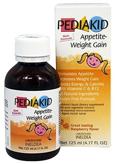 Pediakid Appetite-Weight Gain, a Natural Appetite and Weight Gain Stimulant for Underweight Children (Raspberry Flavor) Failure To Thrive, Weight Gain Diet, Baby First Foods, Vitamins For Kids, High Calorie Meals, Kids Nutrition, Meals For One, Fruits And Veggies, Beauty