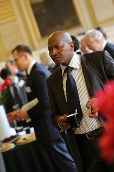 Delegate at the Mining On Top Africa- London Summit '13 Source: http://www.miningontop.com/africa/2013