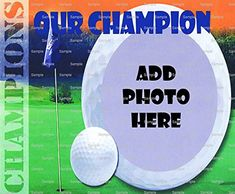 1/2 Sheet - Golf Birthday - Cake Photo Frame - Edible Cake/Cupcake Topper!!! * Read more  at the image link.