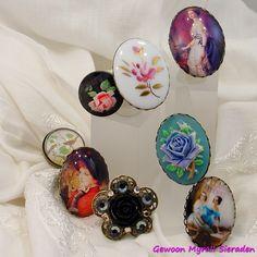 Vintage-style ringen BY Gewoon Myra!!