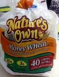 Nature's Own 40 Calorie per Slice   I like the Honey Wheat.