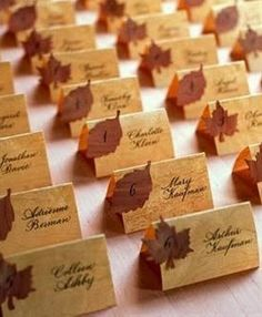 Fall Weddings ~ The Stylista | The Stylista