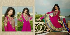 Pink Pure Georgette Salwar Kameez  Design No :- 17721 Product :- Unstitched Salwar Kameez Size :- Max 48 Fabric :- Georgette Work :- Embroidery, Resham, Zari Work Stitching Charges :- र 400 Price :- र 7168  For Sales Queries :- sales@manjaree.in OR call on 0261-3131669  For More Information :- http://manjaree.in/  Follow Our Blog :- http://manjareefashion.blogspot.in/