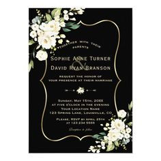 Green Gold Weddings, Black And White Wedding Theme, Black And White Wedding Invitations, Gold Wedding Theme, Wedding Frames, Elegant Wedding Invitations, Wedding Colors, Wedding Ideas, Dream Wedding
