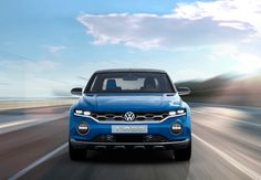 volkswagen T-ROC all-terrain SUV concept features removable roof system