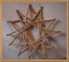 Tutorial - how to weave a star -  pletení z papíru - Fotoalbum - NÁVOD - NA NETRADIČNÍ PLETENÍ - NÁVOD - NA HVĚZDU